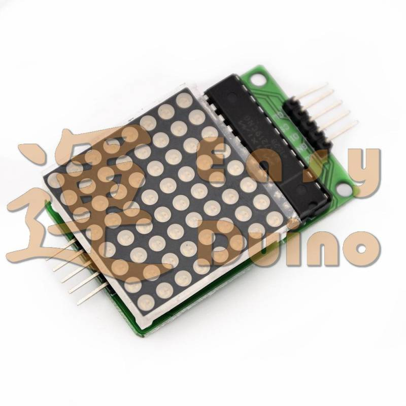 Matrix modul MAX7219, LED matice, červená 3mm
