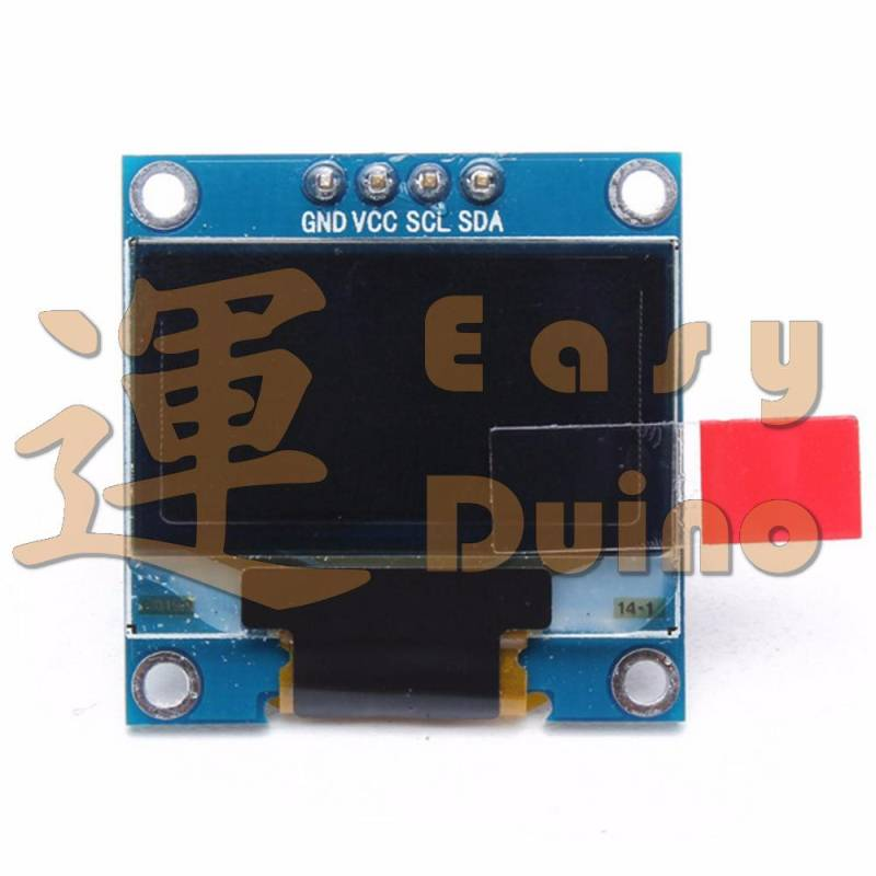 "OLED 0,96"" display bílý, modul 128 x 64, I2C"