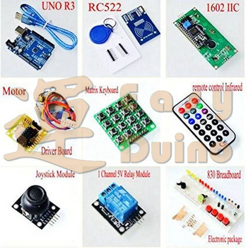 Kit s RFID pro Arduino + box, RFID kit