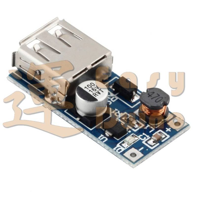 USB DC-DC 0,9V-5V na 5V step-up s USB