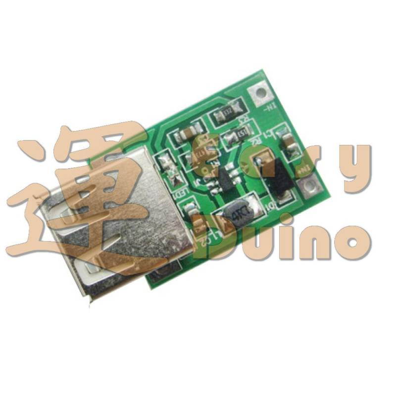 USB DC-DC 0,9-5V na 5V step-up s USB v2