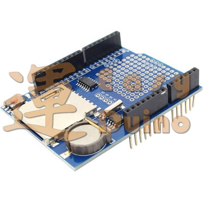 Data logger shield, RTC DS1307