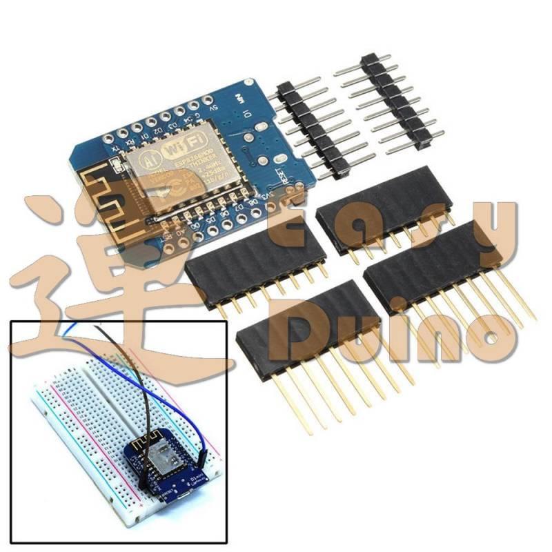 Arduino moduly d mini esp wemos kompatibilní