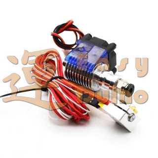 Hotend J-head 1,75 mm, 0,4 mm tryska, 12V, teflon, NTC 100k