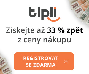 TIPLI - Nejvyšší cashback odměny v Česku.